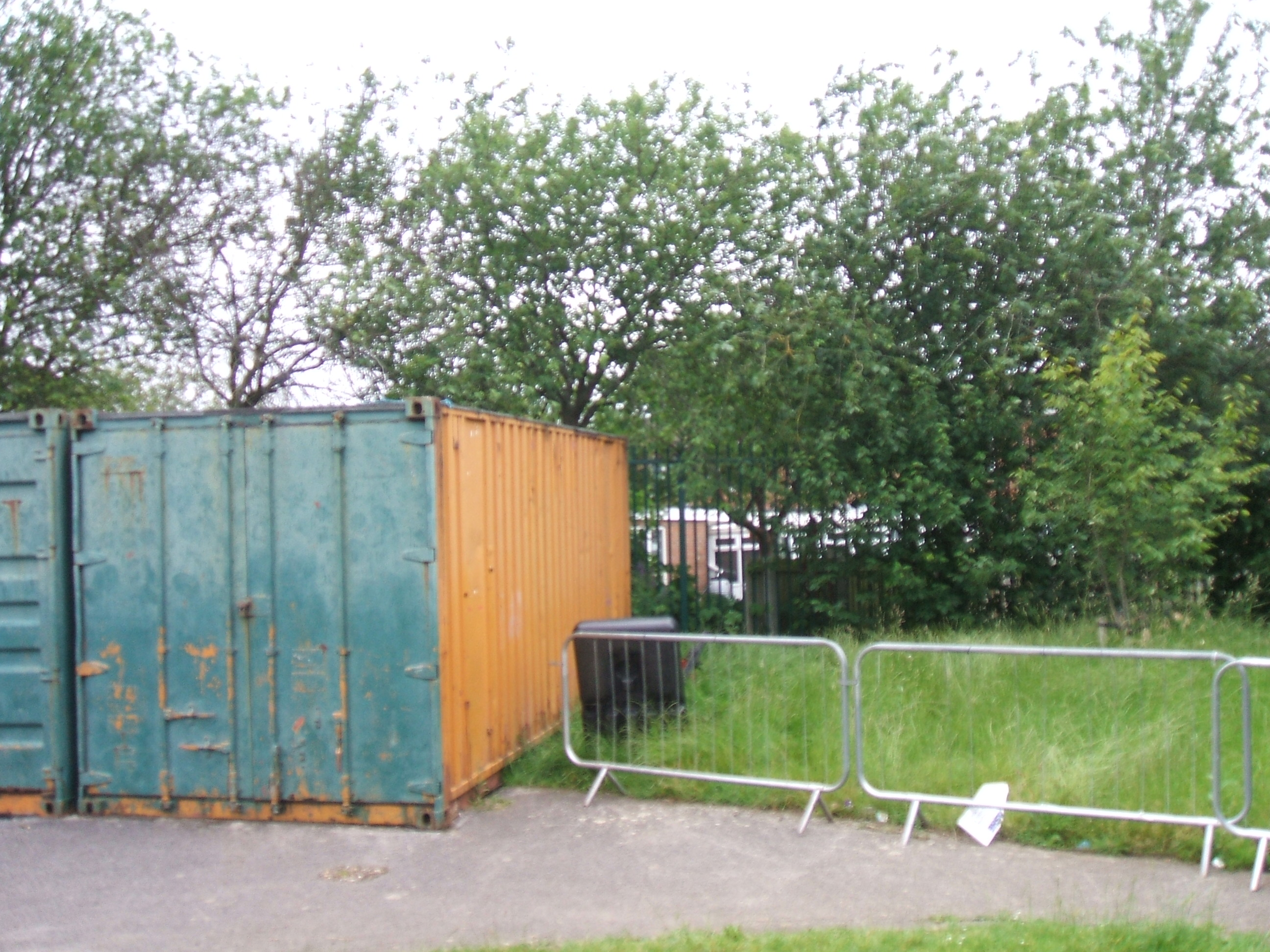 Bishopton steel container