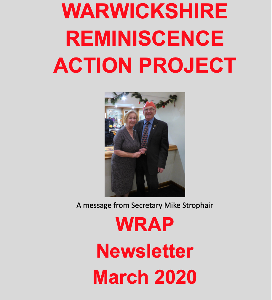 WRAP newsletter